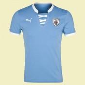 Nouveau Maillot De Football Uruguay 2014 2015 Domicile Puma Fashion