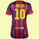 Nouveau Maillot Femme (Lionel Messi 10) Barcelone 2014 2015 Domicile Nike Vintage Provence