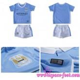 Nouveau Maillot Manchester City Enfant Kits 2015-16 Domicile