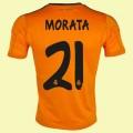 Nouveau Maillot Real Madrid Fc (Morata 21) 15/16 3rd Adidas