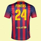 Nouveaux Maillot Foot Fc Barcelone (Sergi Roberto 24) 15/16 Domicile Nike Achat