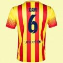 Nouveaux Maillot Football (Xavi Hernandez 6) Barcelone 2014 2015 Extérieur France