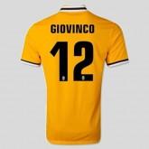 Nouveaux Maillots Juventus (Giovinco 12) 15/16 Extérieur Nike Rabais