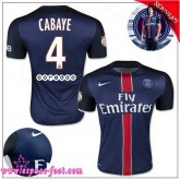 Paris Saint Germain Maillot Cabaye 2015 2016 Game Domicile Maillot Foot Cabaye 2015 2016