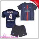 Paris Saint Germain Maillot Foot Cabaye Baby Kits 2015-16 Game Domicile Maillots De Foot Cabaye 2015-16 France Site Officiel