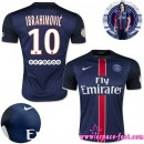 Paris Saint Germain Maillot Ibrahimovic 2015/2016 Game Domicile Maillot Foot Ibrahimovic 2015/2016