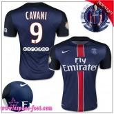 Paris Saint Germain Maillots Cavani 2015 2016 Game Domicile Maillots Foot Cavani 2015 2016