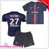 Paris Saint Germain Maillots Foot Pastore Baby Kits 2015 2016 Game Domicile Maillot Foot Pastore 2015 2016 Fr