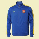 Personnalisé Veste Foot Arsenal 15/16 Bleu #3181 Site Officiel France