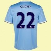 Personnaliser Maillot De Foot Manchester City (Clichy 22) 15/16 Domicile Nike