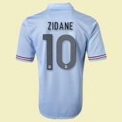 Personnaliser Maillot De Football France (Zidane 10) 2014 2015 Extérieur Nike France Soldes