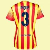 Personnaliser Son Maillot De Foot Femme Fc Barcelone (Gerard Piqué 3) 15/16 Extérieur Nike Alsace