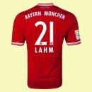 Personnaliser Son Maillot De Foot (Lahm 21) Bayern Munich 2014 2015 Domicile Soldes Lyon
