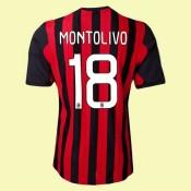 Personnaliser Son Maillot De Football (Montolivo 18) Milan Ac 2014 2015 Domicile Prix France