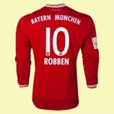 Personnaliser Son Maillot Du Foot Manches Longues (Robben 10) Bayern Munich 15/16 Domicile Adidas Moins Cher Boutique France