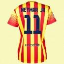 Personnaliser Son Maillot Football Femme Barcelone (Neymar Jr 11) 15/16 Extérieur Nike Ventes Privees