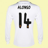 Personnaliser Son Maillot Manches Longues (Alonso 14) Fc Real Madrid 15/16 Domicile Adidas Vintage Achat