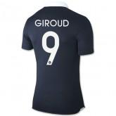 Personnalisez 2014 Coupe Du Monde France ( 9 Giroud ) Maillot Domicile De Football Chaud De Vente