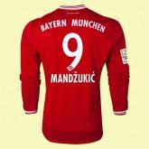 Promo Maillot De Foot Manches Longues Bayern Munich (Mandzukic 9) 15/16 Domicile Adidas Soldes Nice