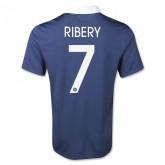 Remise France Coupe Du Monde 2014 ( 7 Ribery ) Maillot Domicile Vente Chaude