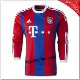 Robben 10 Maillot Bayern Munich Domicile 2014 15 Manche Longue Pas Cher Marseille