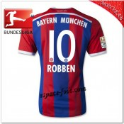 Robben 10 Maillot Foot Bayern Munich Domicile 2014-15 Soldes Provence