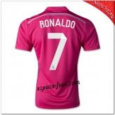 Ronaldo 7 Maillot Real Madrid Fc Extérieur 2014 2015