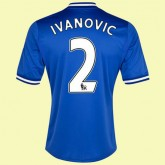 Solde Maillot De Football (Ivanovic 2) Chelsea 2014 2015 Domicile Adidas Officiel Lyon