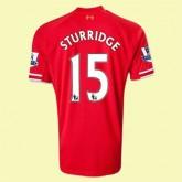 Solde Maillot De Football (Sturridge 15) Liverpool 2014 2015 Domicile Vintage Ventes Privees