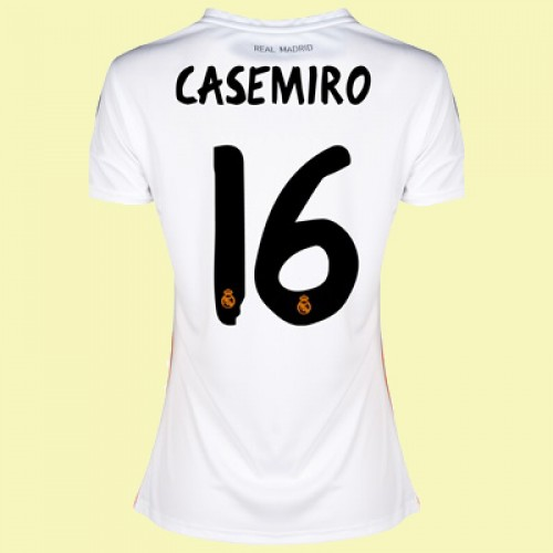 Maillot Domicile Real Madrid Casemiro