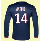 Soldes Maillots Manches Longues Paris -Sg (Matuidi 14) 2014 2015 Domicile Nike