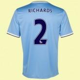Soldes Maillots (Richards 2) Manchester City 2014 2015 Domicile Nike Avec Flocage