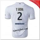 T.Silva 2 Maillot Paris Saint Germain Extérieur 2014/15