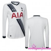 Tottenham Maillots Foot 2015/2016 Game Domicile Manche Longuemaillot Foot 2015/2016 Achat