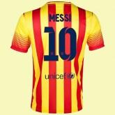 Tout Les Maillot De Football (Lionel Messi 10) Fc Barcelone 2014 2015 Extérieur Lyon