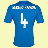 Tout Les Maillot De Real Madrid (Sergio Ramos 4) 15/16 Extérieur Adidas