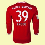 Tout Les Maillot Football Manches Longues (Kroos 39) Bayern Munich 2014 2015 Domicile Adidas Pas Cher Provence
