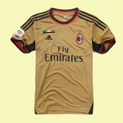Tout Les Maillots Ac Milan 15/16 3rd Adidas Soldes
