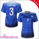 Usa Maillot Rampone Femme 2015/2016 Game Extérieur Maillot Foot Rampone 2015/2016